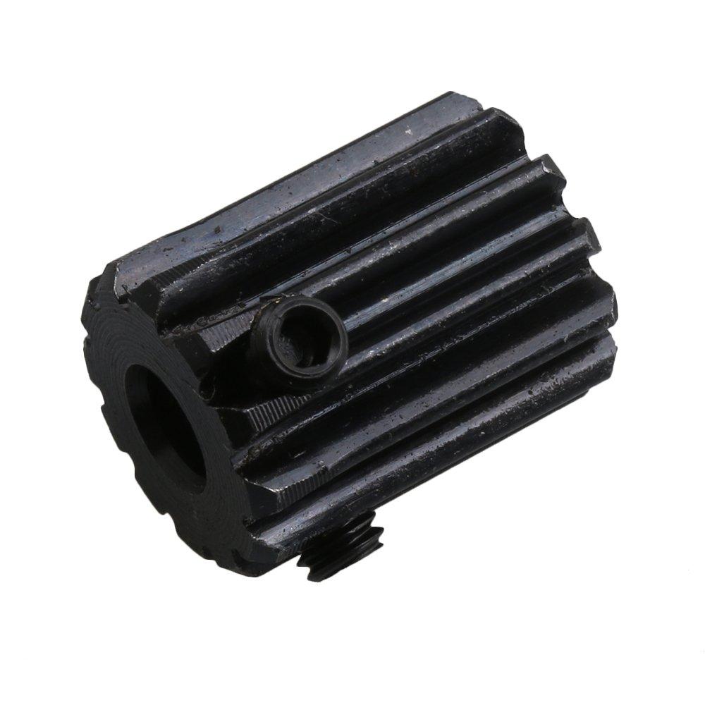 2Pcs Steel 1 Die Spur Gear for Transmission- (Teeth: 12 Hole Diameter:5mm)