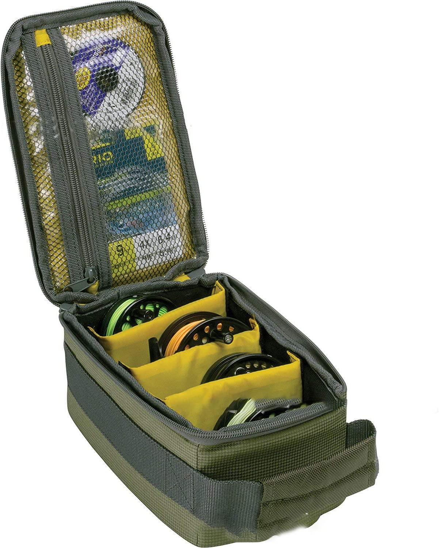 Fishing Reel Bag Line Bag Outdoor Fly Fishing Reel Case Fishing Tackle Organizer Water-Resistant Fishing Gear Carry Storage Bag #3802