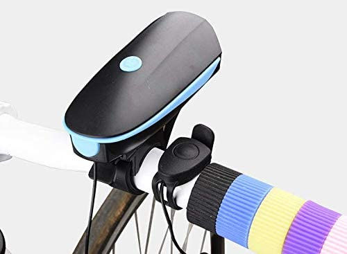 KUOHAI Bicycle Headlight Horn USB Charging Horn Mountain Bike Charging Headlight Warning Light