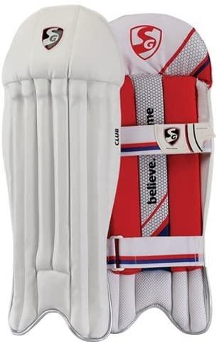SG Club Wicket Keeping Leg Guard Pads Mens Size