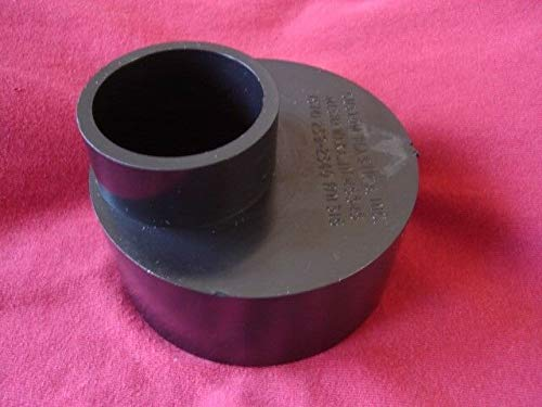 Rv Trailer Sewer Tank Compatible with Eccentric Reducer Adapter 3 Male to 1-1/2 Male ABS Pipe