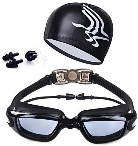 HONG YU Swimming Goggles HD Anti-Fog 100% UV Adjustable Glasses Belt Professional Swim Goggle Adult for Men Women