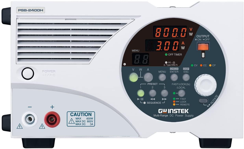 GW Instek PSB-2400H 400W Multi-Range Programmable Switching DC Power Supply