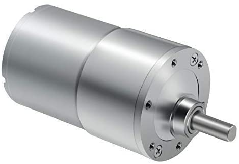 Gulakey DC Gear Motor, High Torque Reversible Electric Geared Motor - with Eccentric Output Shaft Gearbox (12V/100RPM)