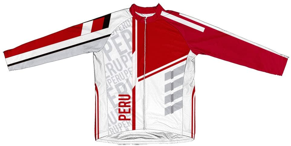 ScudoPro Peru Winter Thermal Cycling Jersey for Men
