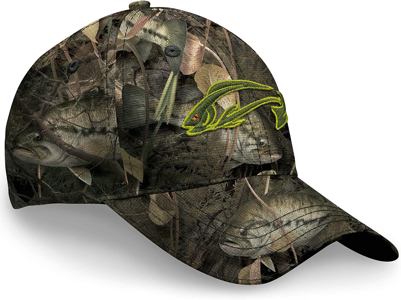 Fishouflage Bass Fishing Hat – Driftwood Bay Camo Hat