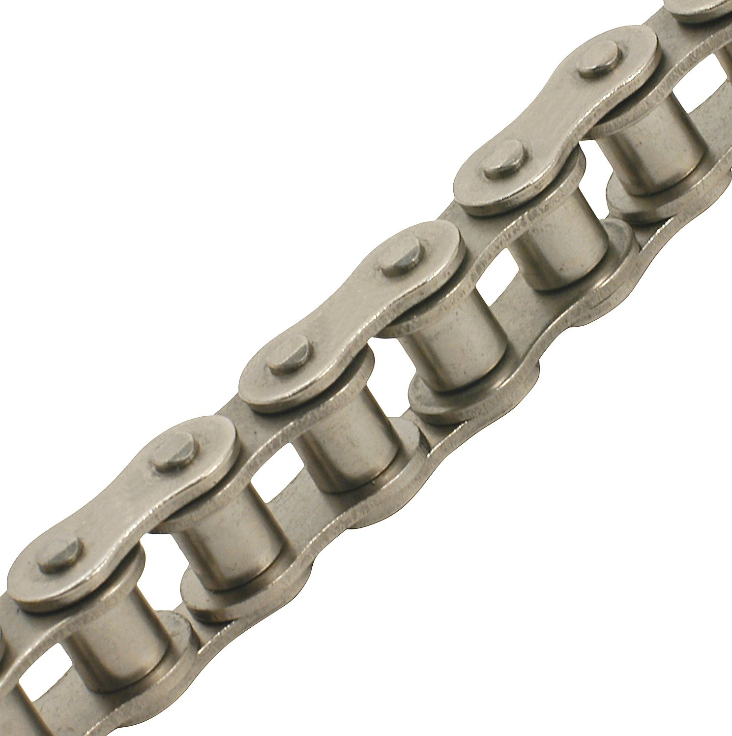 TRITAN 35-1NP 100FT Precision ANSI Nickel Plated Roller Chain, 3/8