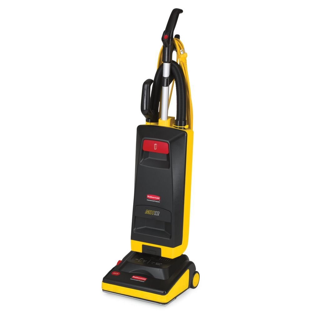 2 Manual-Height Micro Filter Upright Vacuum