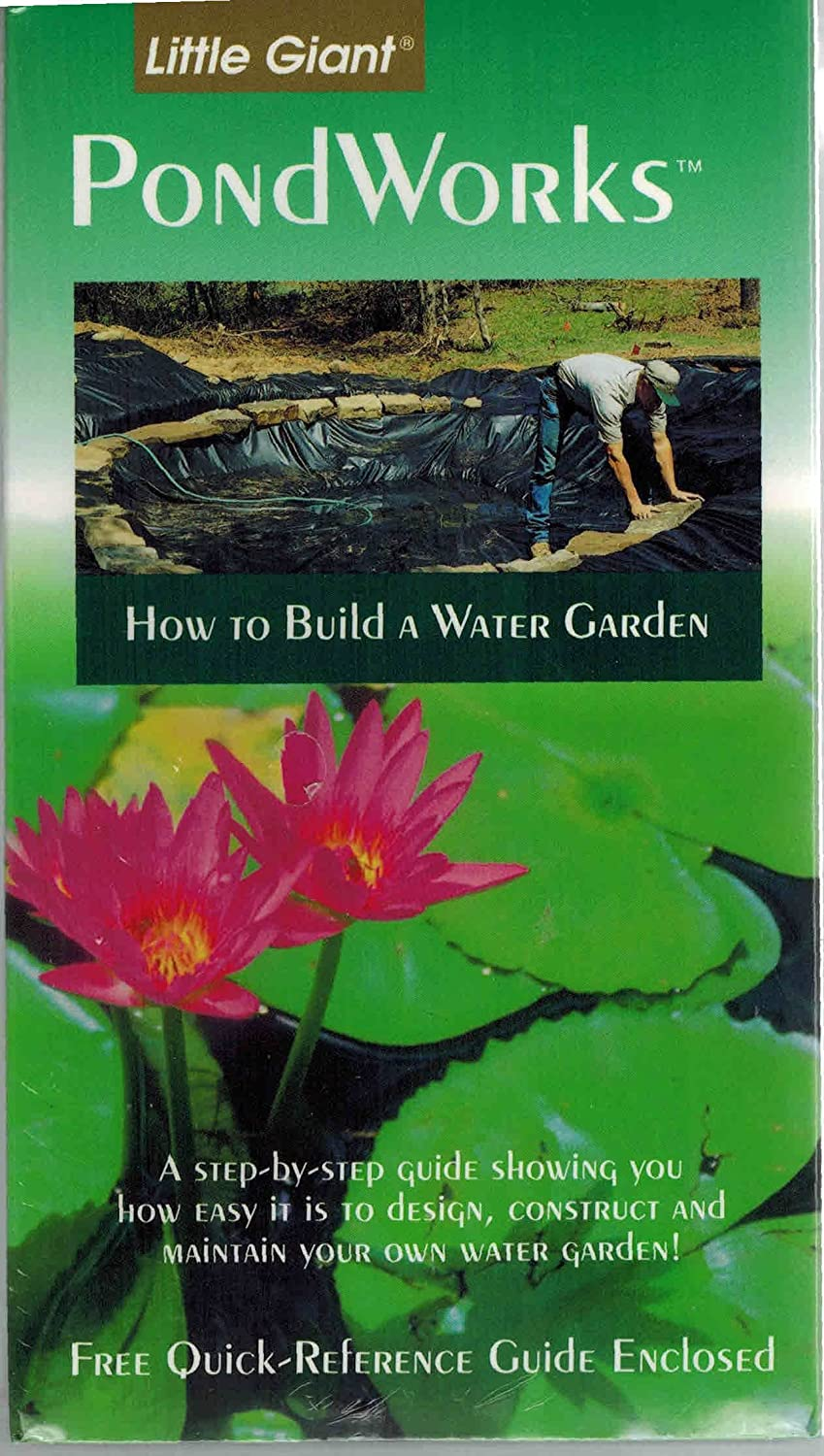 Little Giant 599038 N/A Water Gardening How To Video 599038