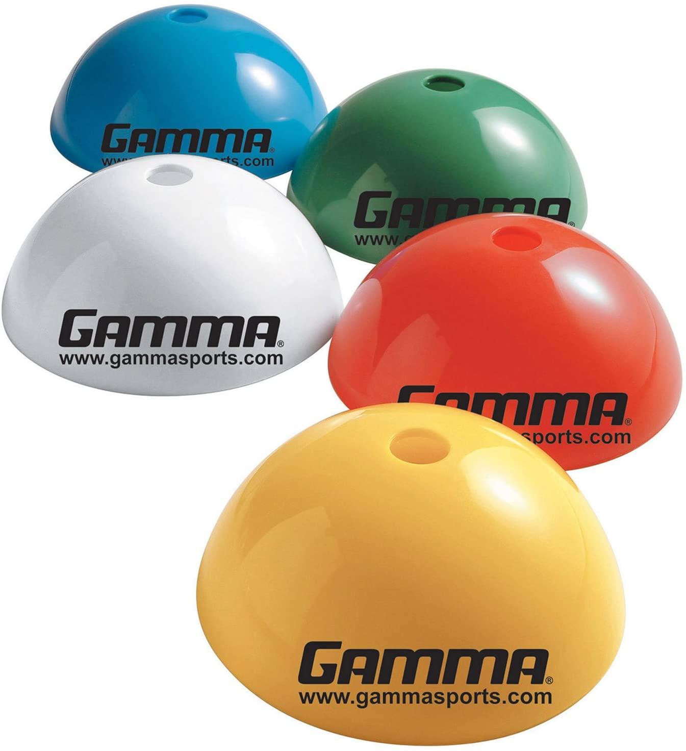 Gamma Rigid Dome Cones (pack of 5) assorted color