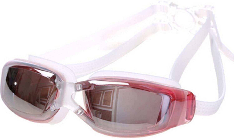 Men Women Anti Fog Uv Protection Swimming Goggles Professional Electroplate Waterproof Swim Glasses
