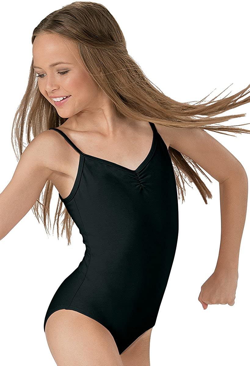 Balera Adult Cotton Dance Leotard Camisole Style Pinch Front