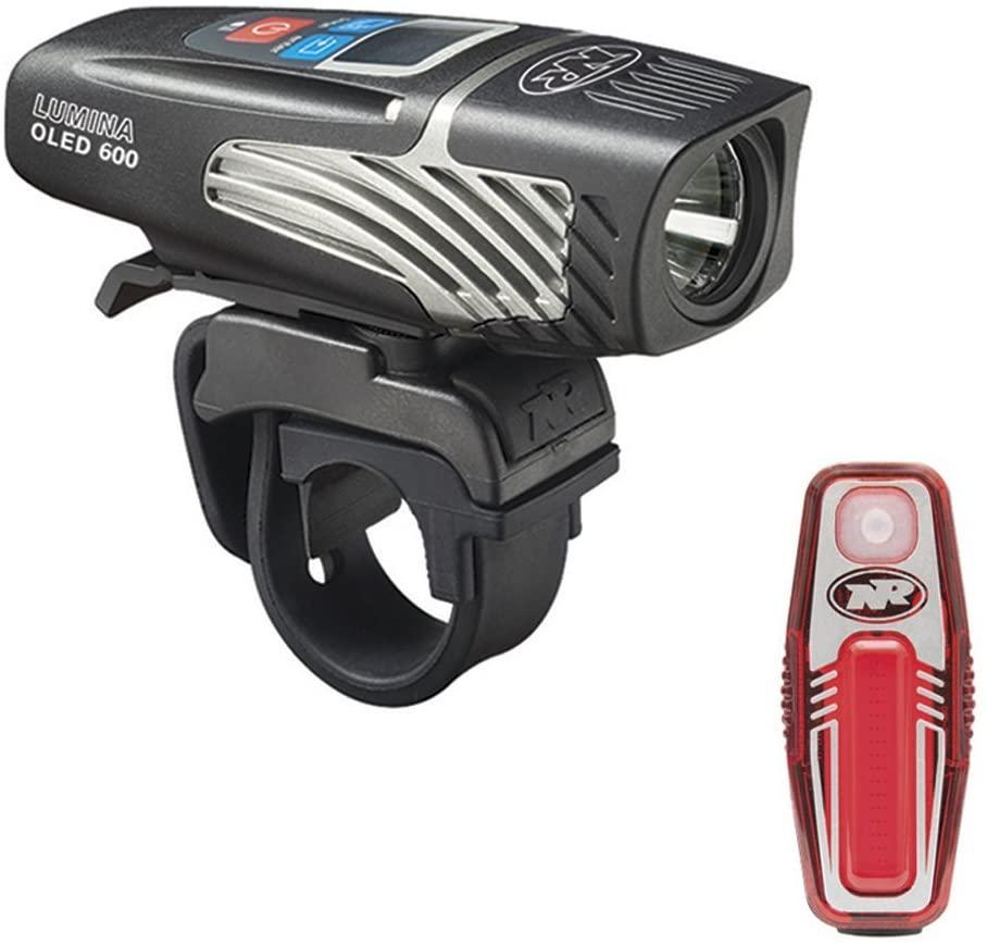 NiteRider Lumina 600 OLED Sabre 35 Bicycle Light Combo