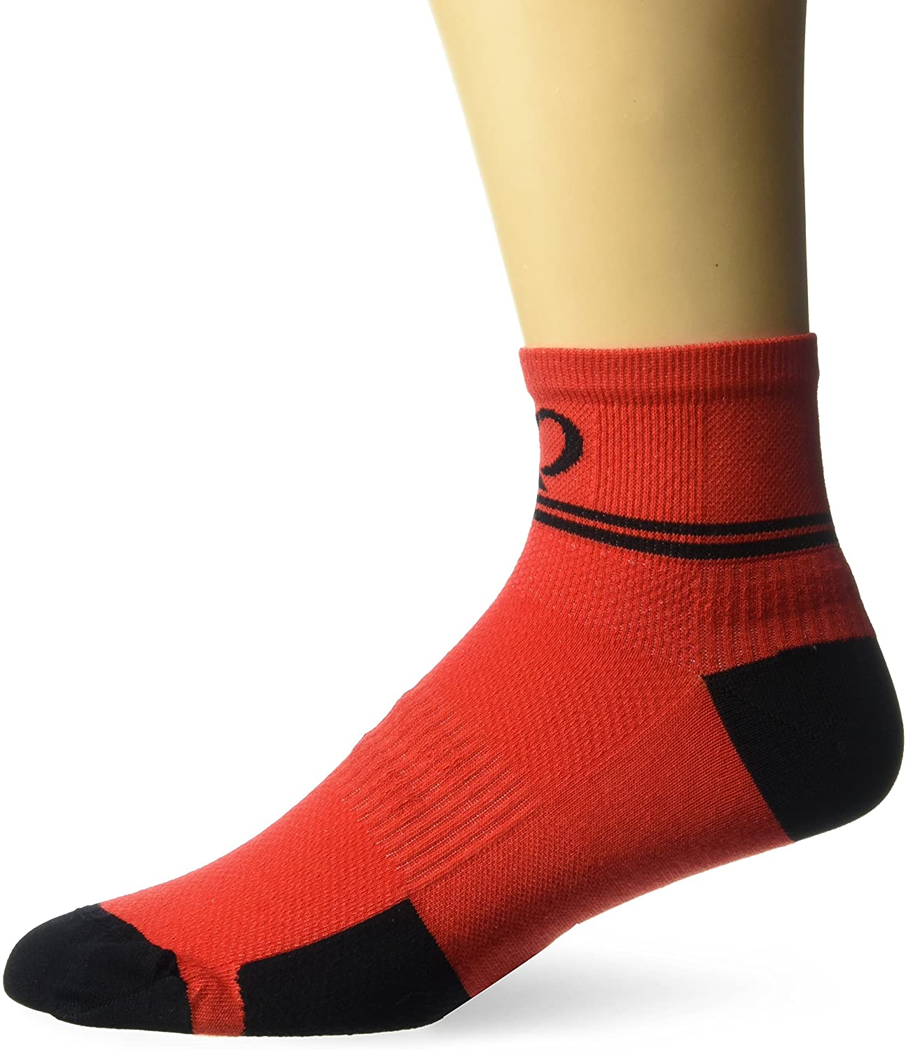 PEARL IZUMI Elite Low Sock, Rogue Red Diffuse, Large