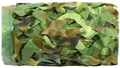Huoo Camouflage Net, Army Mesh Nets, Sun Mesh,Nets, Awning, Sunscreen Nets Lightweight (Size : 6x8m)