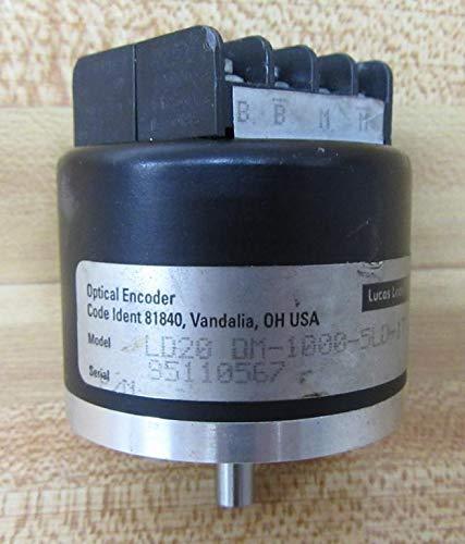 Lucas Ledex 95110567 Optical Encoder LD20DM10005LD1T