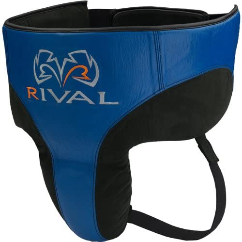 RIVAL 360 Pro No Foul Protector - Small - Black/Blue