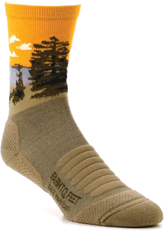 Farm to Feet Cascade Locks 3/4 Technical Hike Merino Wool Crew Socks