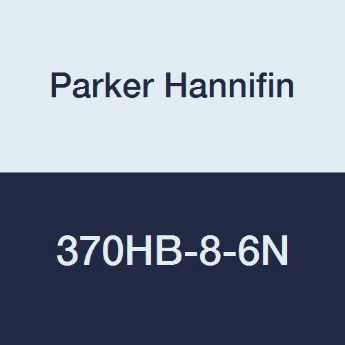 Parker Hannifin 370HB-8-6N Par-Barb Nylon Female Elbow Fitting, 90 Degree Angle, 1/2