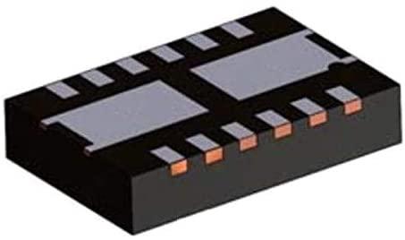 MOSFET FET 80V 8.2 MOHM PQFN, Pack of 10 (FDMD8280)