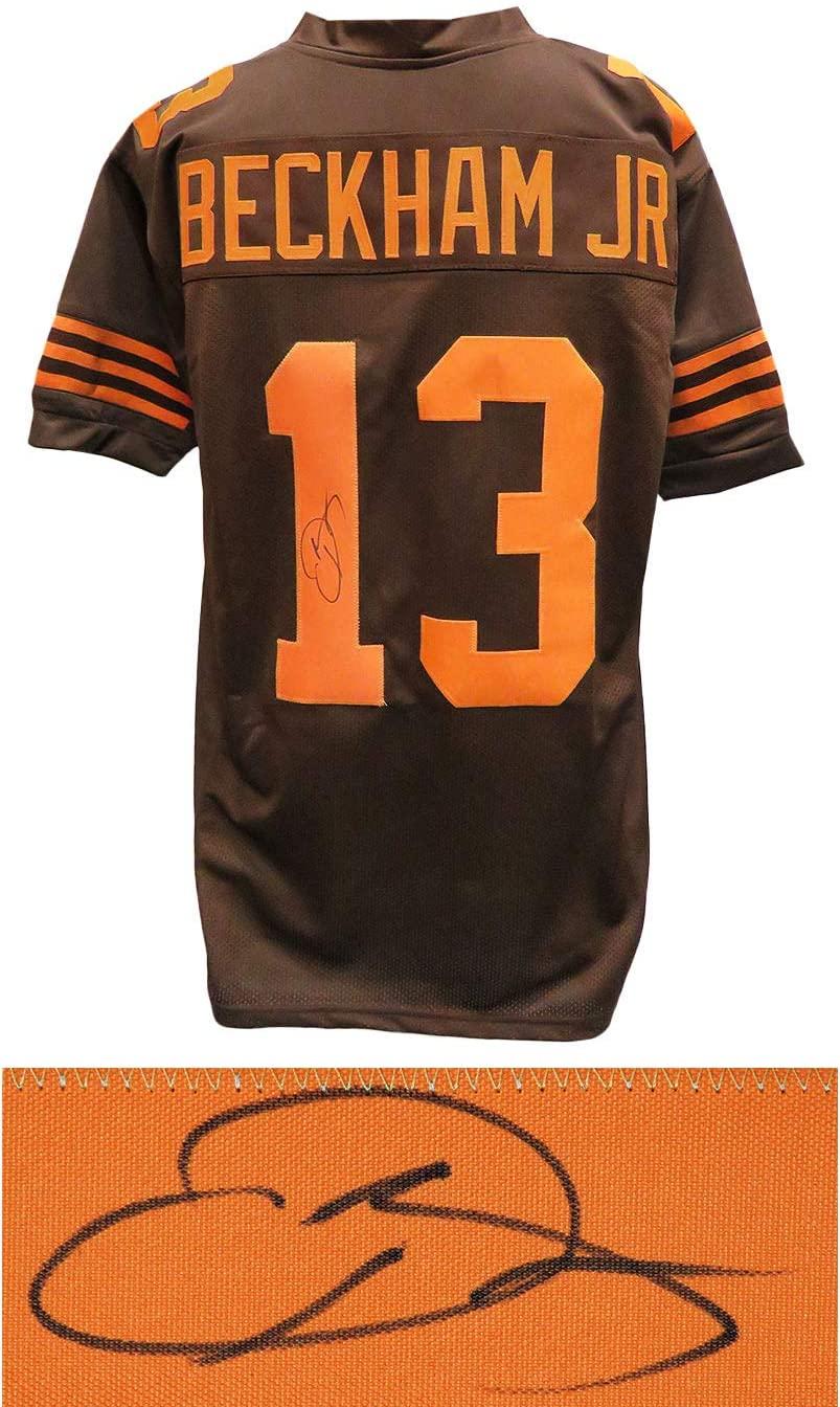 Cleveland Browns Odell Beckham Jr Signed Brown Jersey - Schwartz Authentic