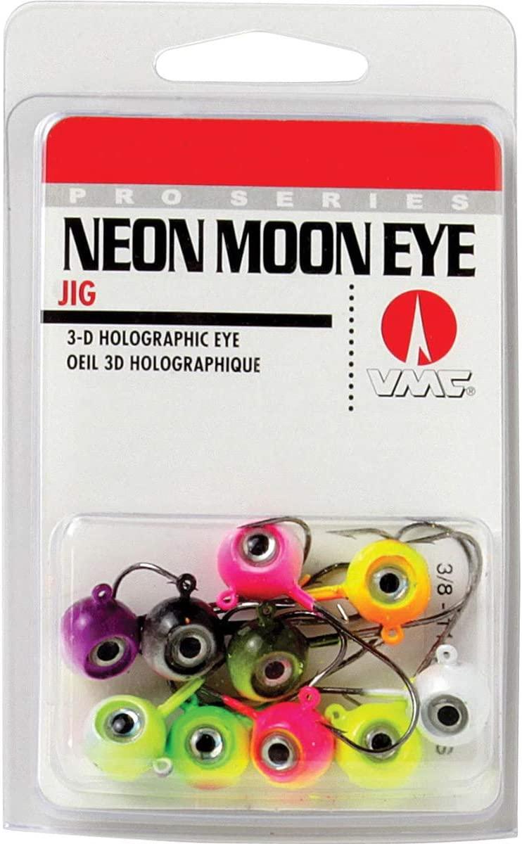 Neon Moon Eye Jig Kit 1/16 Assorted