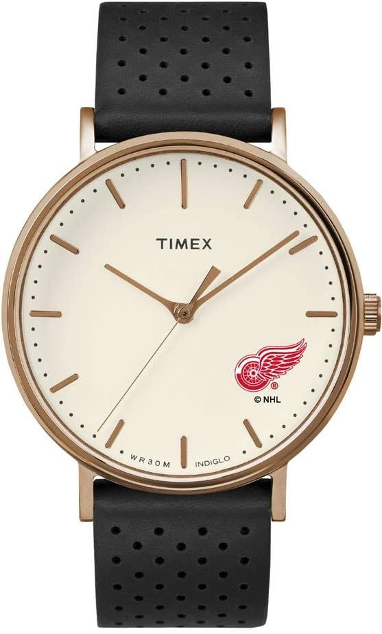 Timex Ladies Detroit Red Wings Watch Rose Gold Grace Watch