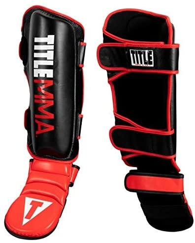 Title MMA Super Protect Shin-N-Step Guards