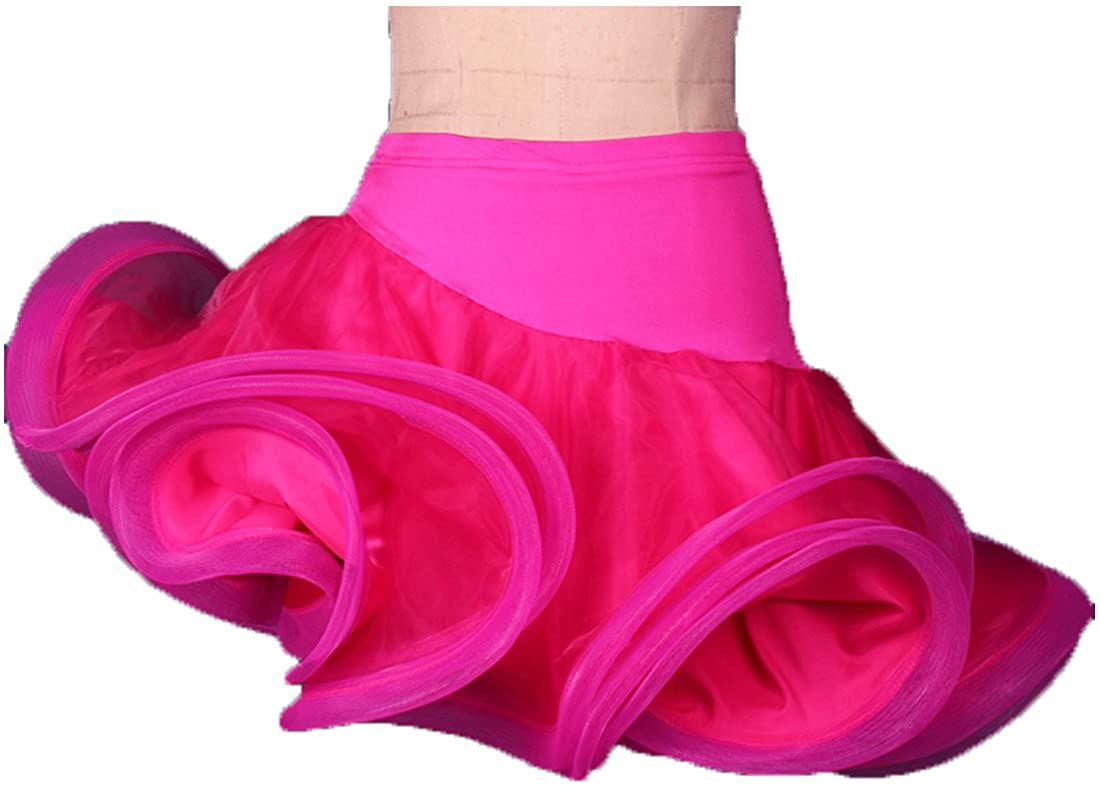 Full Nice Women's Dance Side-Opening Skirts