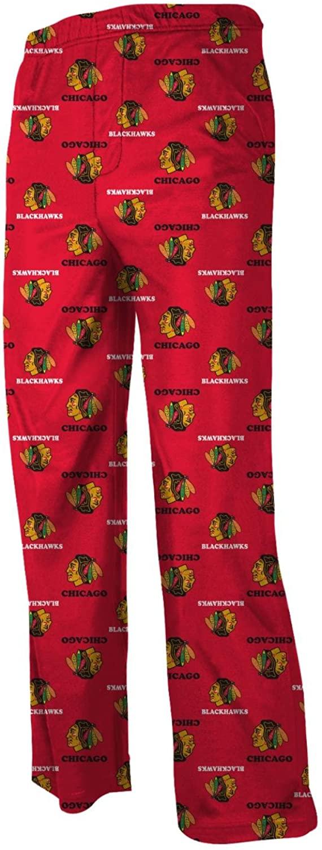 Reebok Chicago Blackhawks Youth NHL Logo Pajama Pants