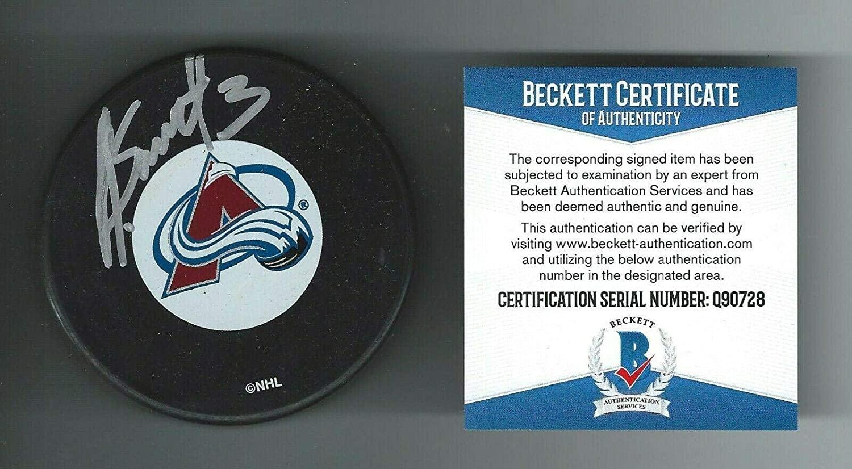 Karlis Skrastins Autographed Puck - Lokomotiv Beckett COA - Beckett Authentication - Autographed NHL Pucks