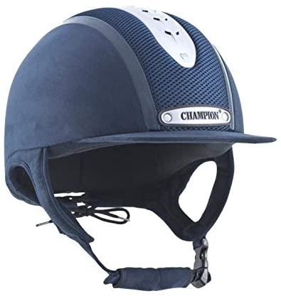 Finest Brands International Ltd Champion Evolution Puissance Riding Hat Navy 55