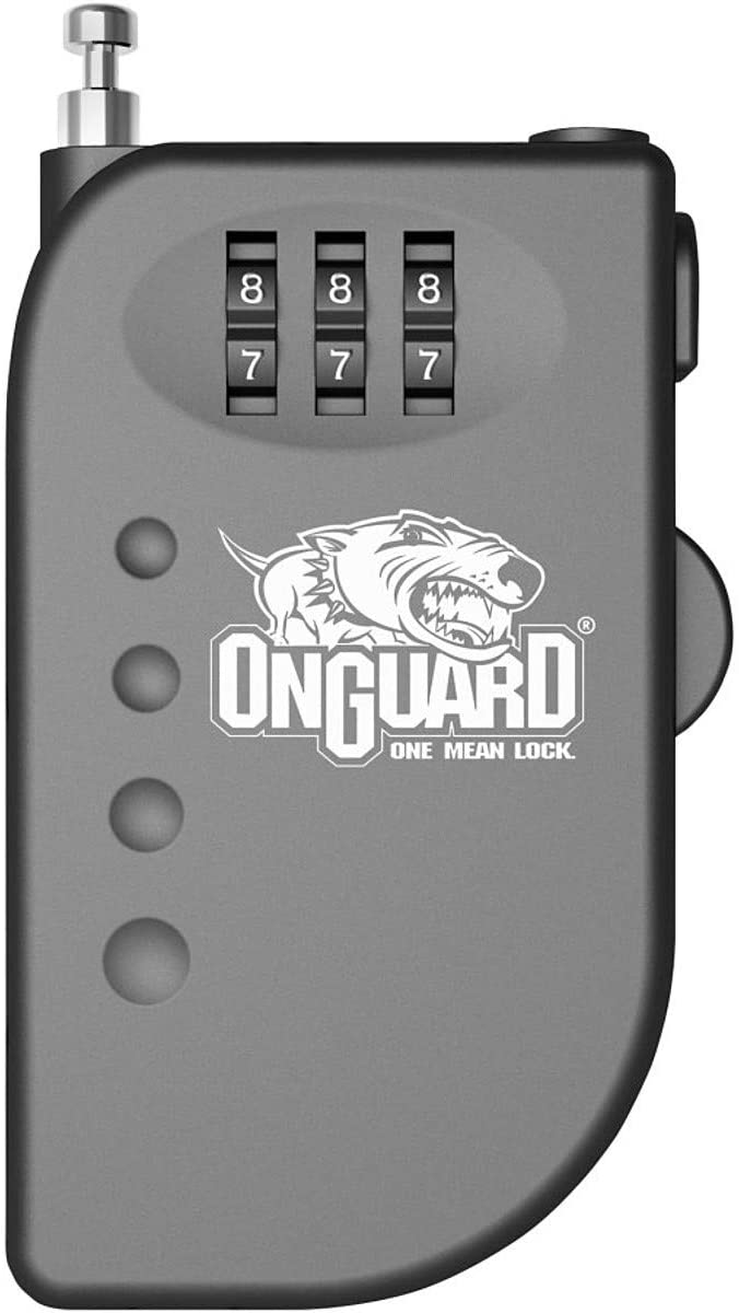 ONGUARD Terrier Roller Cable Combination Lock (3'/2mm)
