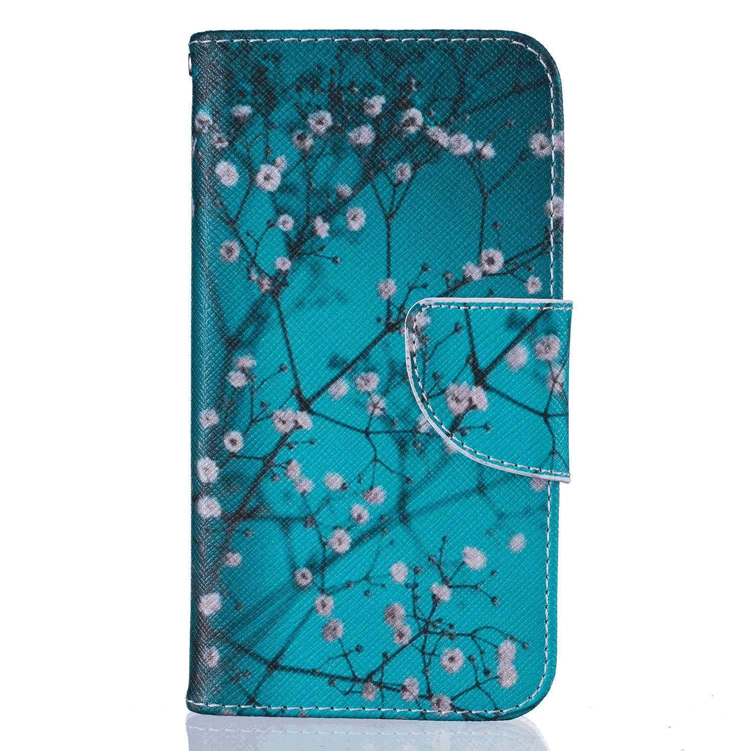 Stylish Cover Compatible with iPhone XR, tree2 Leather Flip Case Wallet for iPhone XR