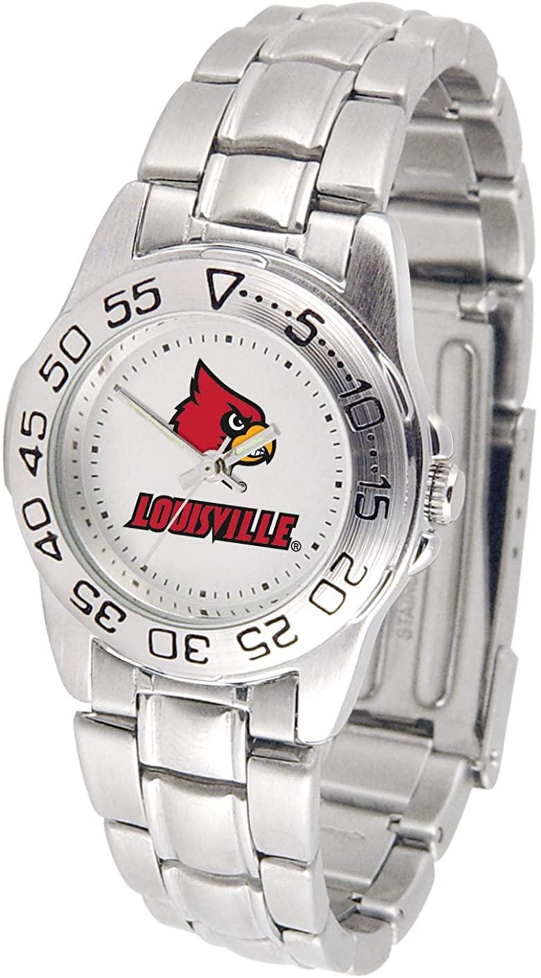 Louisville Cardinals - Ladies' Sport Steel