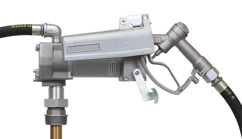 Dayton 12F733 Pump, Fuel Transfer, 24 VDC, 15 GPM