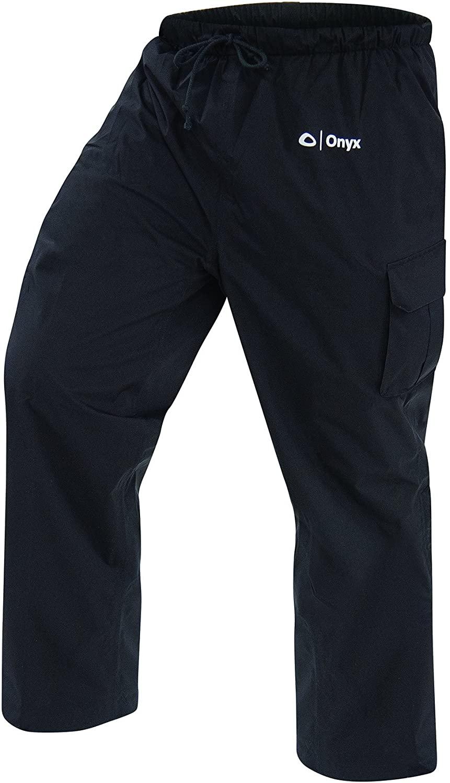 ONYX STR Rain Pants, Grey, Large