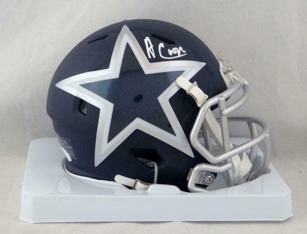 Amari Cooper Signed Mini Helmet - AMP Speed W Auth *White - JSA Certified - Autographed NFL Mini Helmets