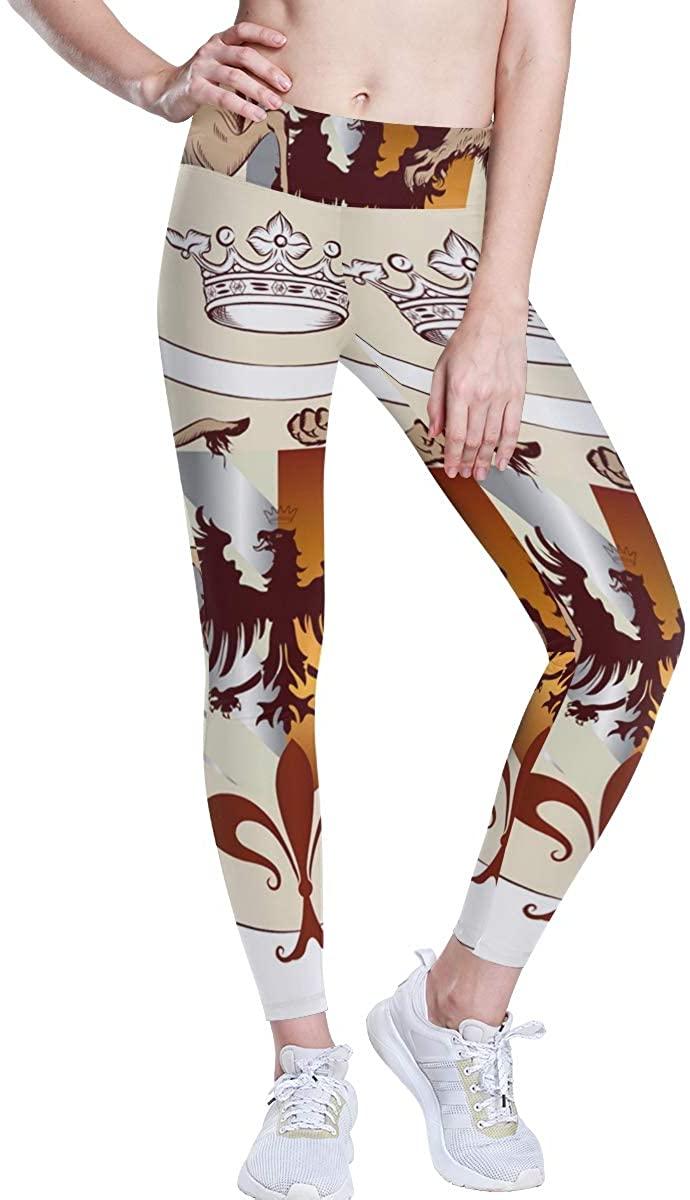 BHRETI Women's Leggings, Shamanic Dance Yoga Pants, Yoga Long Trousers Yoga Tights Suitable for Gym Sports Running
