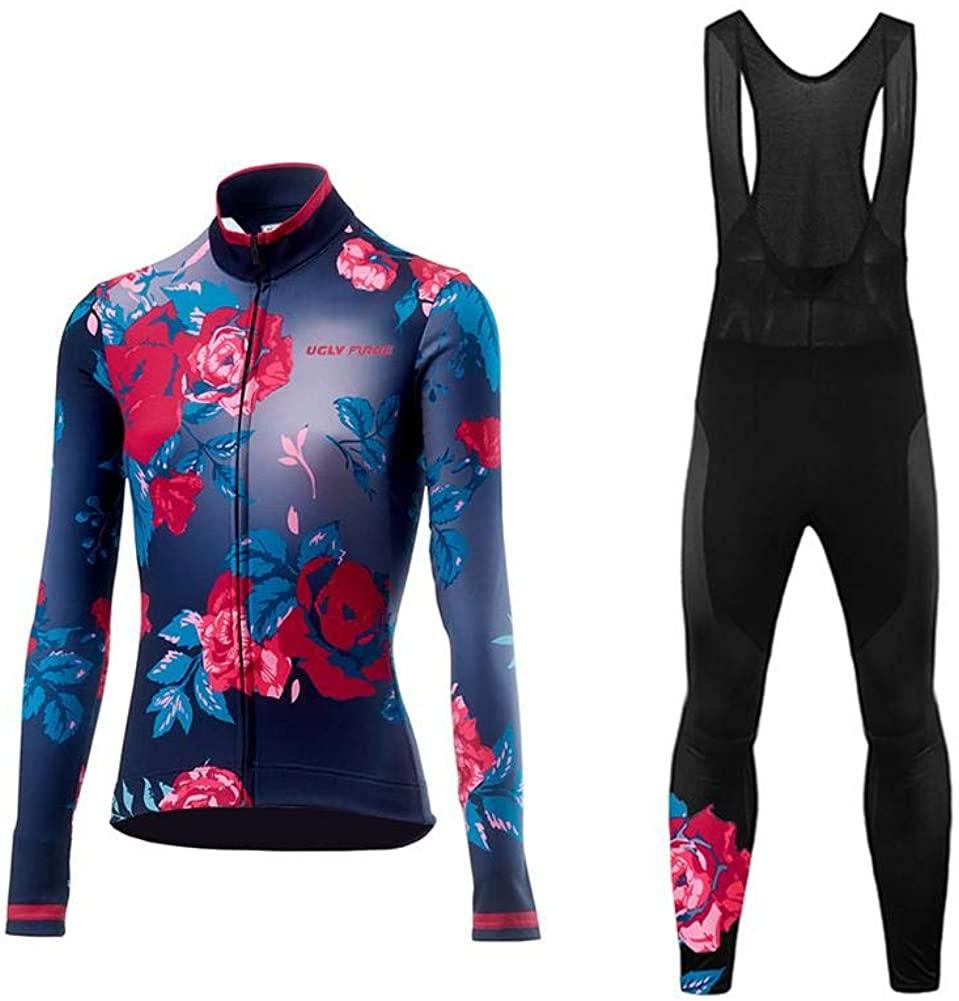 Uglyfrog Cycling Jersey Set Bike Biking Outdoor Sports Clothing Long Sleeve Shirt Pants Bicycle