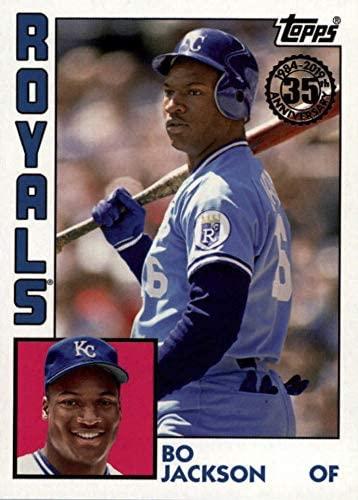 2019 Topps Series 1 - Bo Jackson - 1984 Topps 35th Anniversary Throwback - Kansas City Royals Baseball Card #T84-75