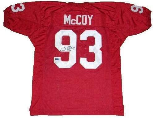 Signed Gerald McCoy Jersey - OU #93 COA - Autographed College Jerseys