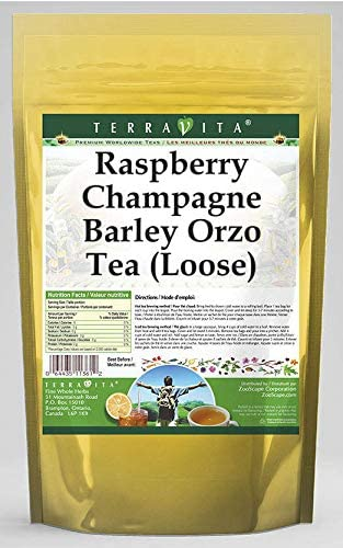 Raspberry Champagne Barley Orzo Tea (Loose) (8 oz, ZIN: 563549)
