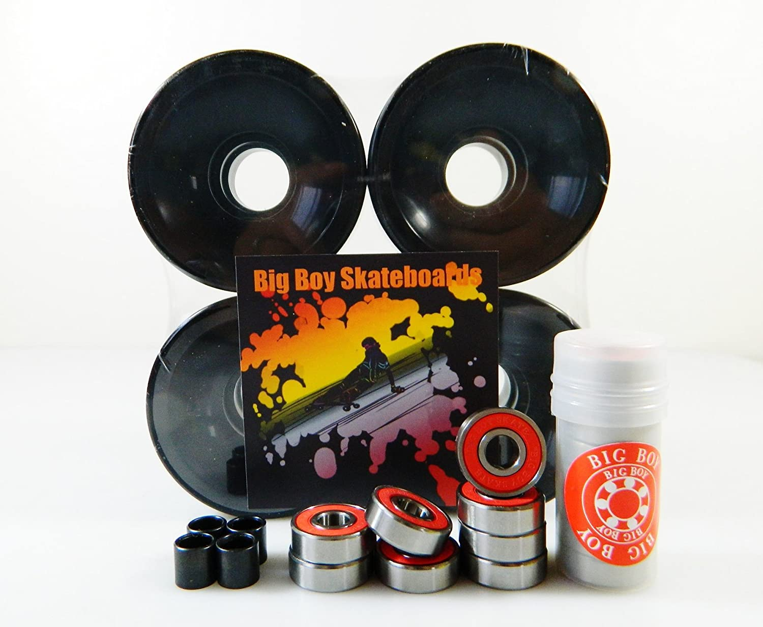 High Rebound Skate Wheels + ABEC-7 Speed Bearings