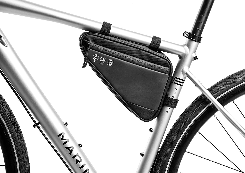 ROOCHL Bike Phone Front Frame Bag Sport Bike Bag Phone Case Holder Triangle Saddle Frame Bag Bicycle Handlebar Bag Cycling Accessories Storage Pouch Bicycle Saddle Bag