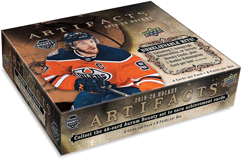 2019/20 Upper Deck Artifacts NHL Hockey HOBBY box (8 pks/bx)