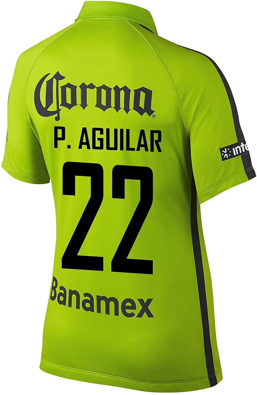 P. Aguilar #22 Club America Women's Soccer Jersey 2014/15