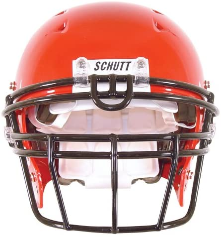 Schutt Sports DNA ROPO UB-DW Carbon Steel Varsity Football Faceguard, Scarlet, Small/Large