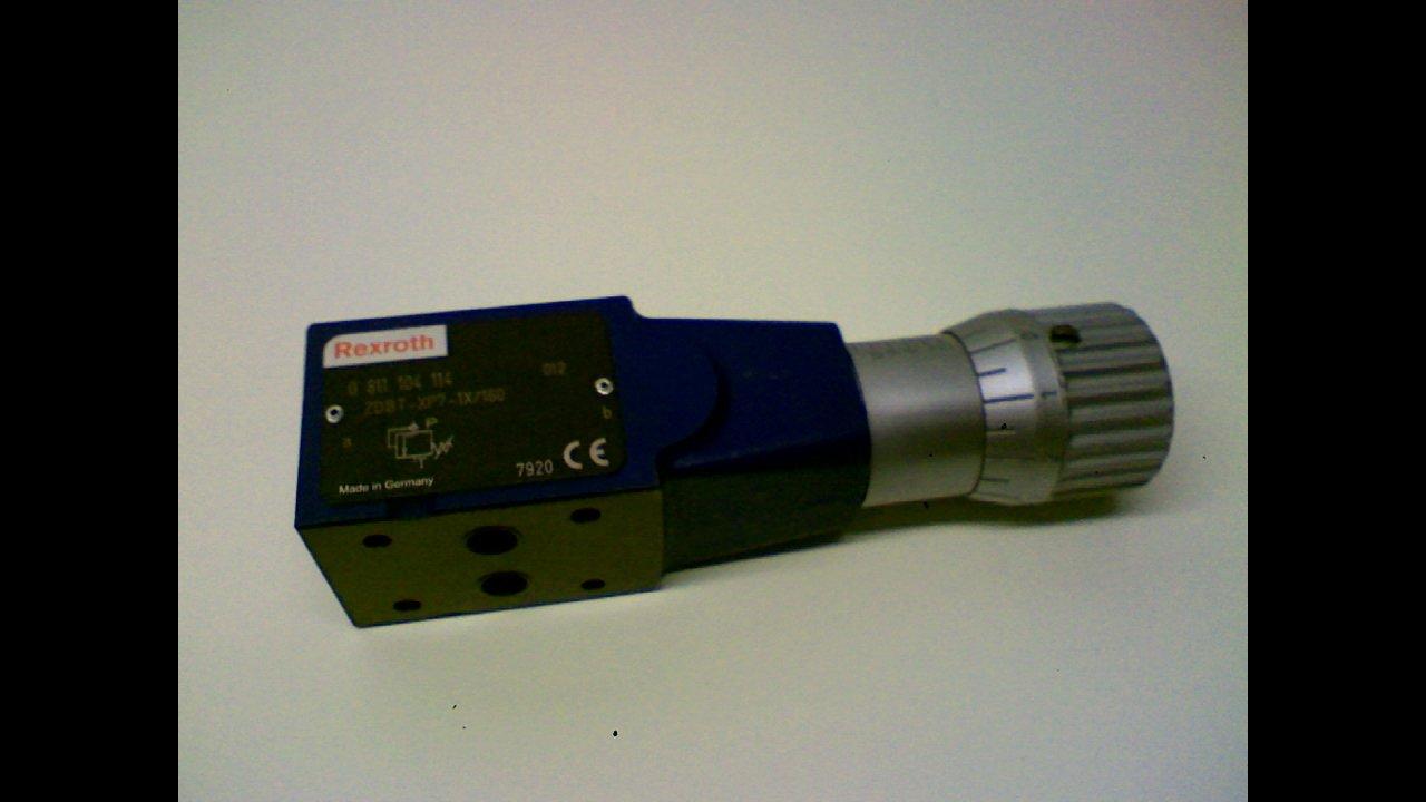 Rexroth Zdbt-Xp7-1X/160 - Hydraulic Valve Zdbt-Xp7-1X/160 -