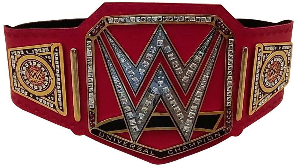 Brand New WWE Universal Champion Belt Adult Replica Genuine Leather Title Belts Zinc Alloy & Brass